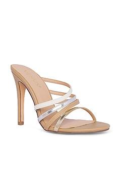 metallic detail heel