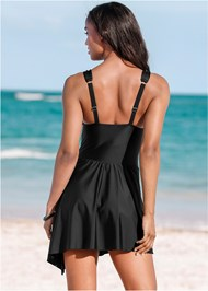 Back View Adjustable Swim Dress