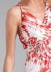 Alternate View Printed Ruffle Maxi Dress