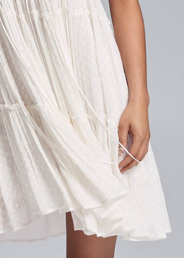 Alternate View Crochet Detailed Mini Dress