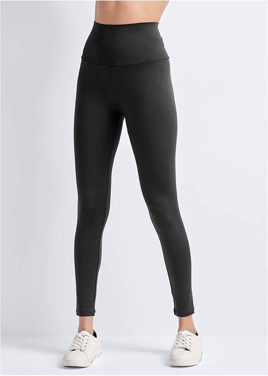 ACTIVE COMPRESSION LEGGINGS,RACERBACK SPORTS BRA,PEARL DETAIL SNEAKERS