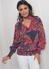 Alternate View Paisley Top