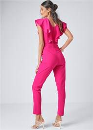 Alternate View Ruffle Jumpsuit