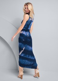 Alternate View Tie Dye Drape Dress