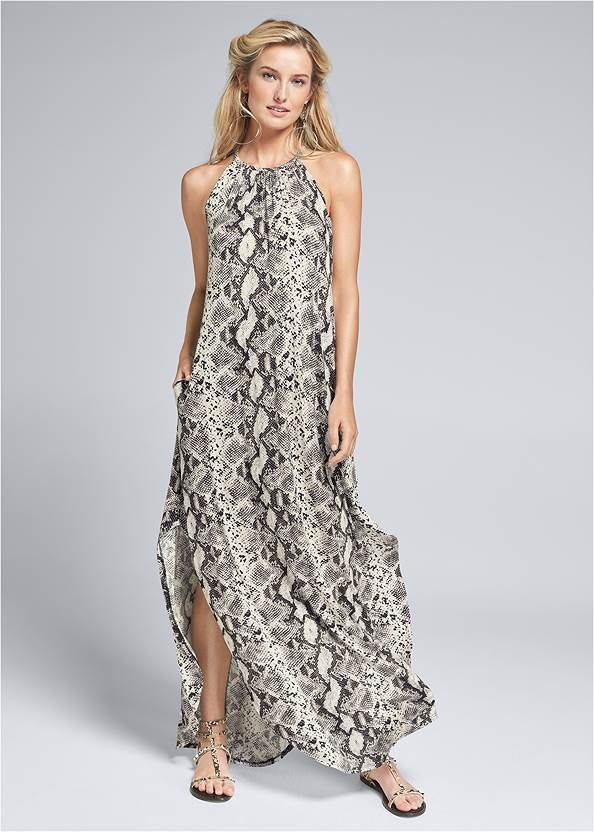 Python Print Casual Dress