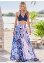 Front View Wide Leg Pant Cover-Up