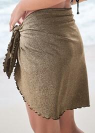 Alternate View Tie Wrap Skirt