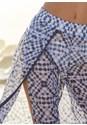 Alternate View Pom Pom Trim Cover-Up Pants