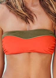 Alternate View Color Block Bandeau Top