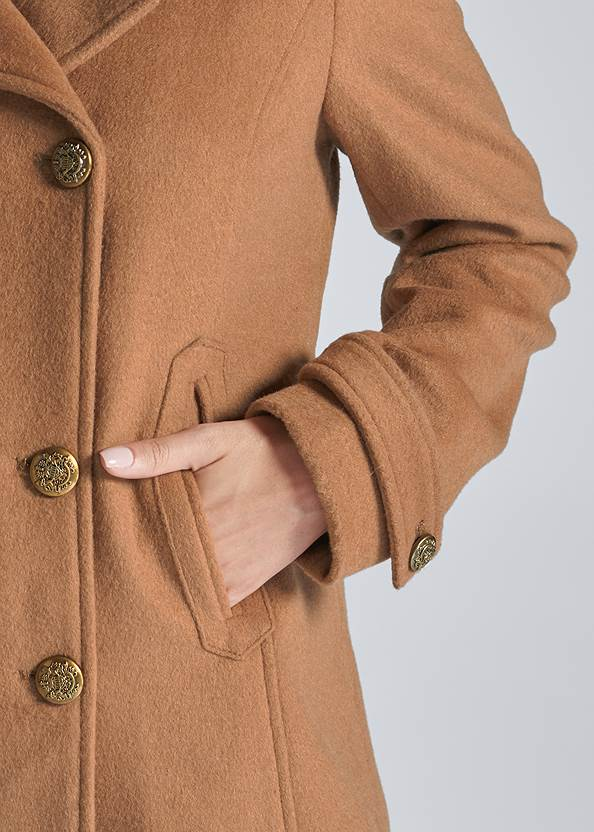 Alternate View Double Breasted Coat