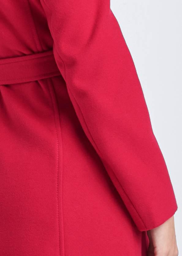 Alternate View Wrap Front Coat
