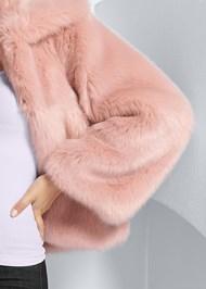 Alternate View Faux Fur Coat