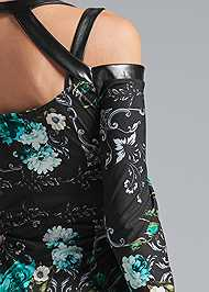 Alternate View Floral Strappy Dress