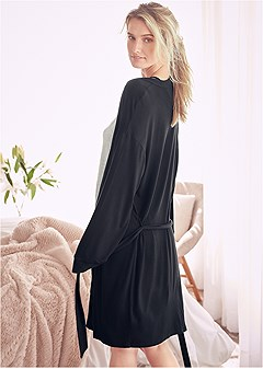plus size sleep robe