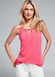 Front View Casual Tank