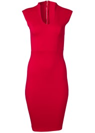 Alternate View Mock V Midi Dress