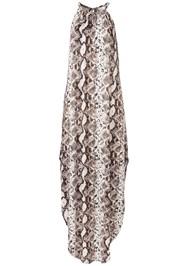 Alternate View Python Print Casual Dress