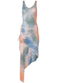 Alternate View Tie Dye High Low Dress