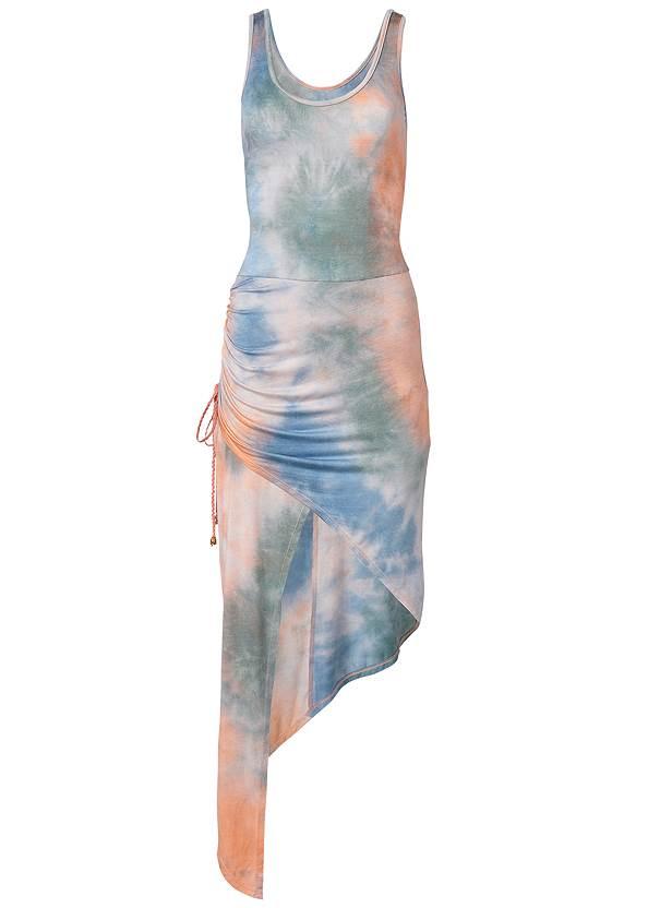 Alternate View Tie Dye High Low Dress