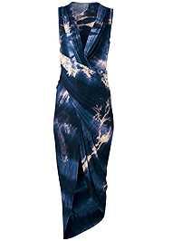 Alternate View Tie Dye Drape Dress