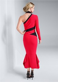 Alternate View One Shoulder Bandage Dress