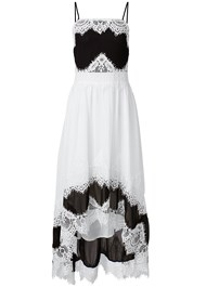 Alternate View High Low Lace Detail Dress
