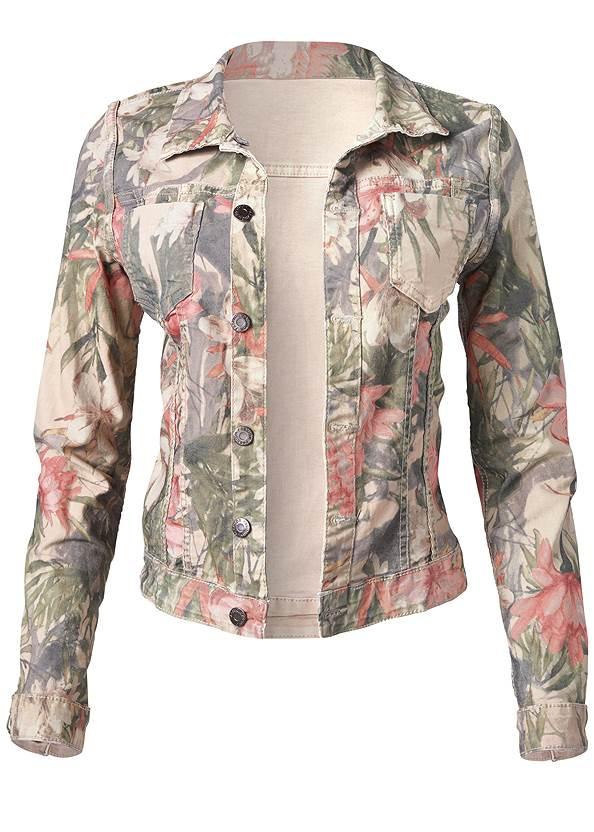 Alternate View Reversible Denim Jacket