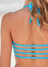 Alternate View Strappy Bandeau Top
