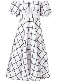 Alternate View Organza Print Dress