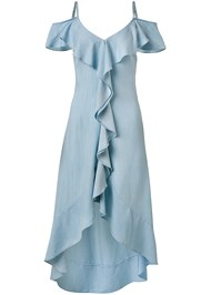 Ghost with background  view Chambray Dress