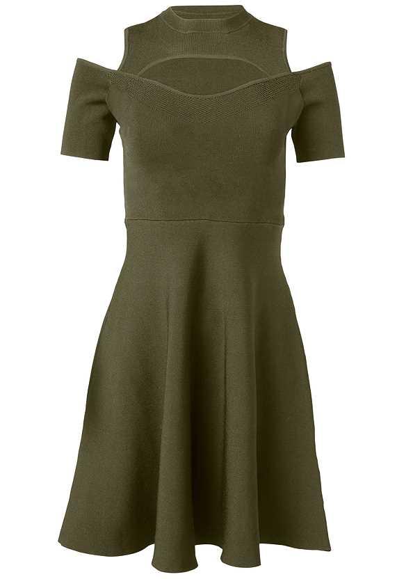 Cold Shoulder Cut Out Dress