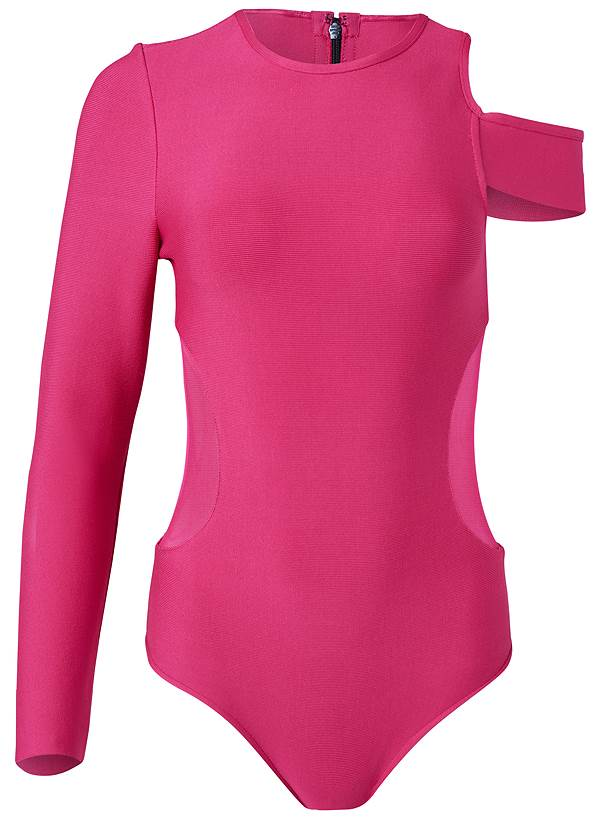 Alternate View One-Shoulder Bodysuit