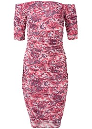 Alternate View Paisley Mesh Dress