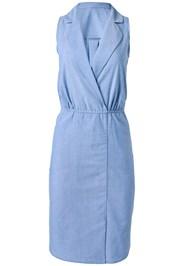 Alternate View Sleeveless Collared Dress