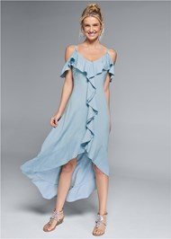 Full front view Chambray Dress
