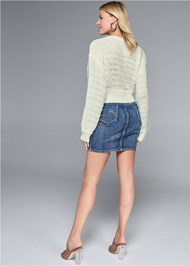 Alternate View Relaxed Cropped Sweater