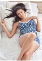 Alternate View Knit Printed Sleep Romper