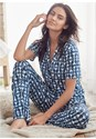 Front View Knit Sleep Set