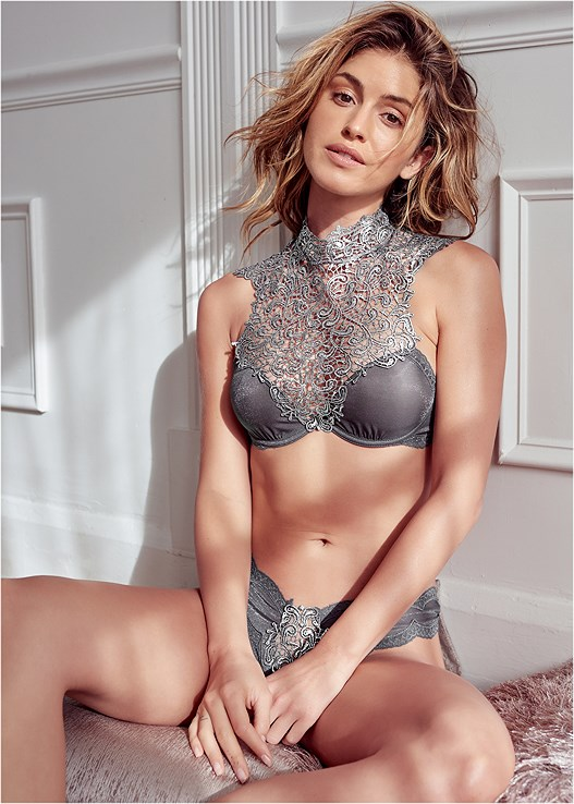 HIGH NECK BRA/PANTY SET