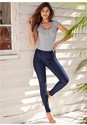 Front view Slimming Stretch Jeggings