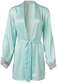 Ghost with background  view Satin And Lace Detail Robe