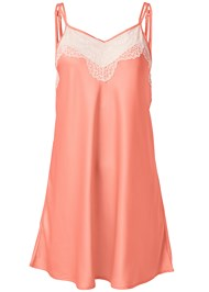 Ghost with background  view Lace Detail Sleep Dress