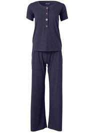 Alternate View Sleep Henley And Pant Set