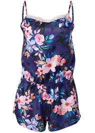 Alternate View Floral Sleep Romper