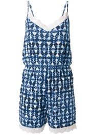 Alternate View Knit Printed Sleep Romper
