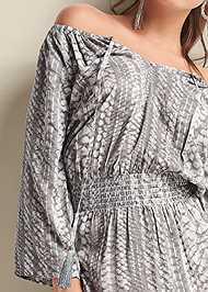 Alternate View Python Printed Maxi Dress