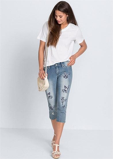 Hummingbird Capri Jeans