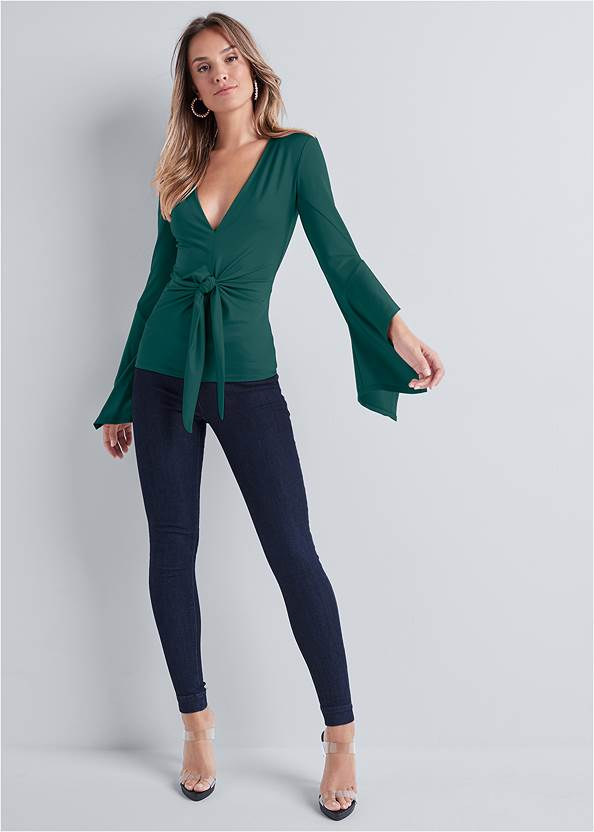 Alternate View Twist Knot Front Top