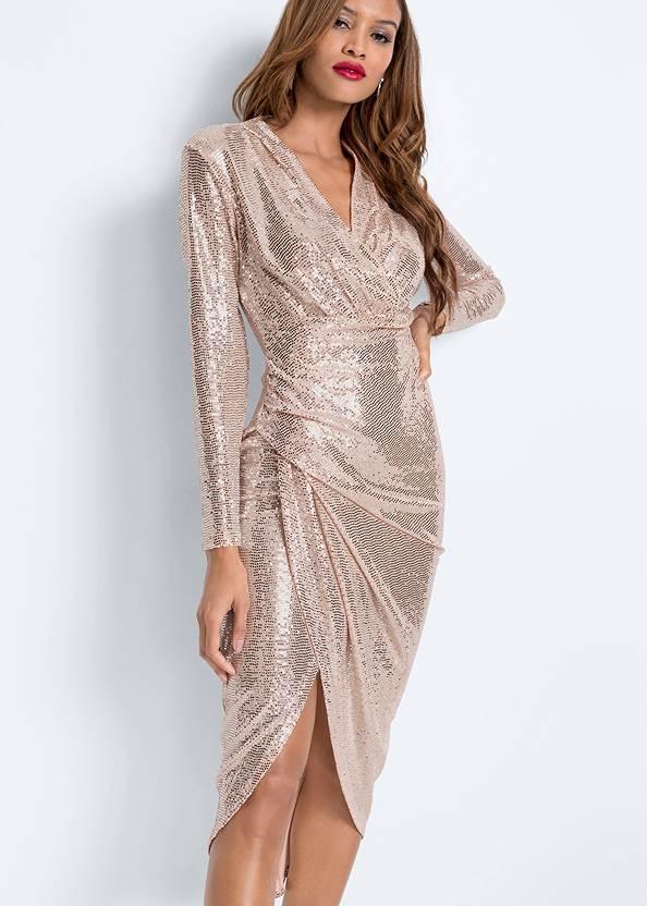 Detail  view Sequin Long Dress