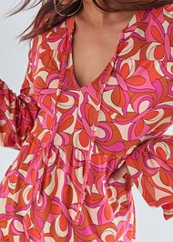 Alternate View Geometric Print Top